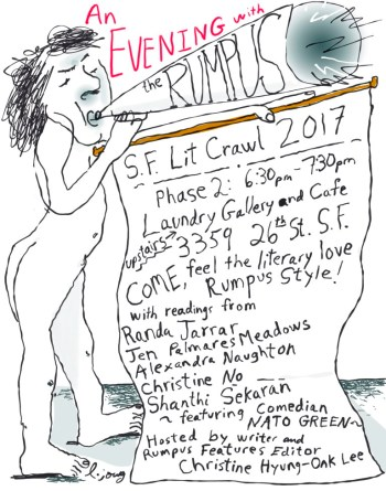 Rumpus SF Lit Crawl 2017